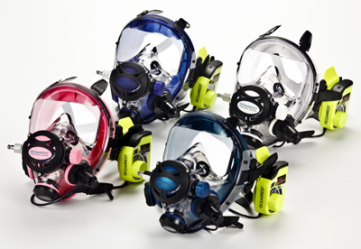 Ocean Reef IDM Integrated Dive Mask all colors image