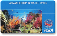 Advanced Open Water card image