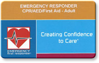 Emergency First Responder card image