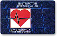 Emergency First Responder Instructor card image