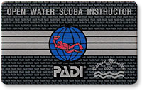 Open Water Scuba Instructor card image