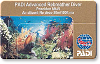 Rebreather Instructor card image