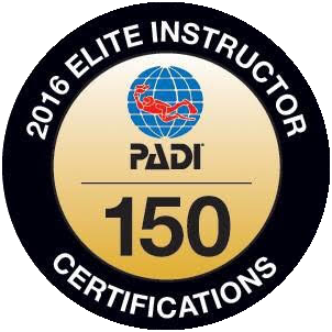 PADI Elite Instructor Award 2016 image