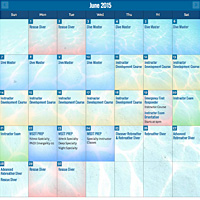 Instructor Development Course schedule image