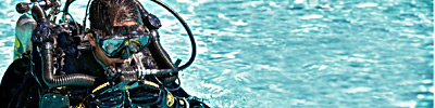 PADI Dry Suit Specialty Instructor header image