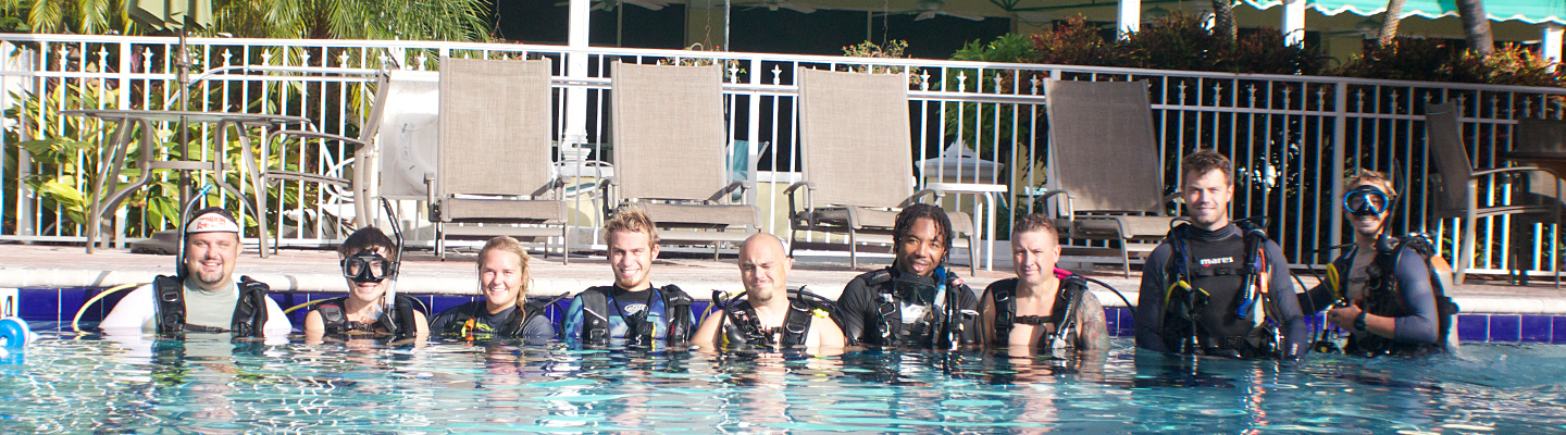 Programs for PADI Instructor Development Key Largo header image