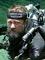 Photograph of Jim Wyatt, Rebreather Instructor in Key Largo, Florida Keys