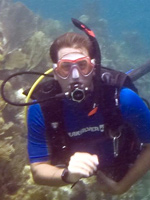 Photograph of Neil Evans, Elite Instructor Award in Key Largo, Florida Keys